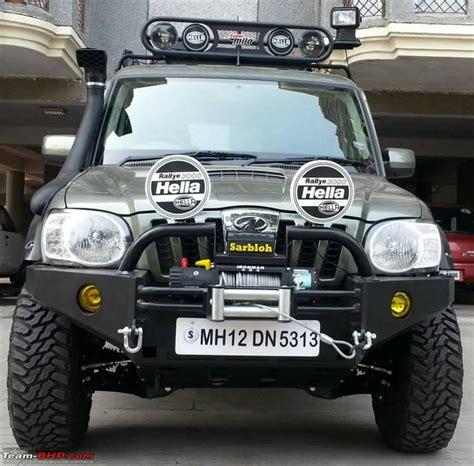 Interesting Modified Scorpio Getaway For Gul Panag Teambhp