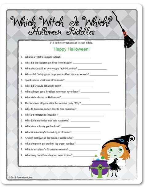Halloween Fun Riddles by Riddles For Kids Halloween Riddles For Kids