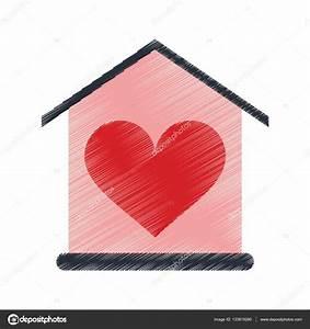 Casa Amore De : scheda di disegno casa amore cuore beauitful vettoriali stock jemastock 133819260 ~ Markanthonyermac.com Haus und Dekorationen