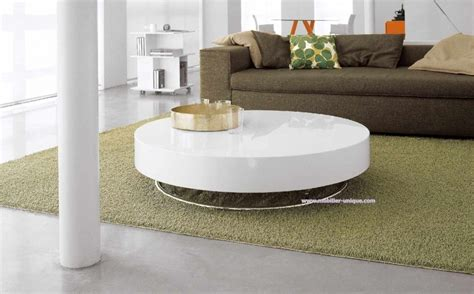 top 5 des tables basses rondes design