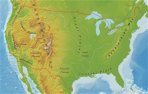 rivers in the united states map cruise guide