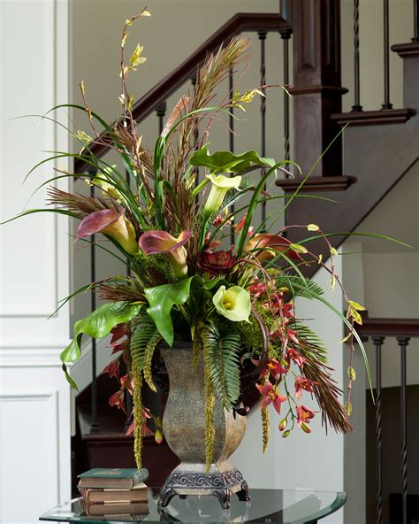 Interior & Decoration Awesome Silk Floral Arrangements