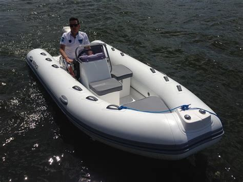 Large Inflatable Boat by Falcon Large 420 Tender Sirocco Marine