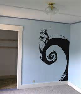 skellington nightmare before wall