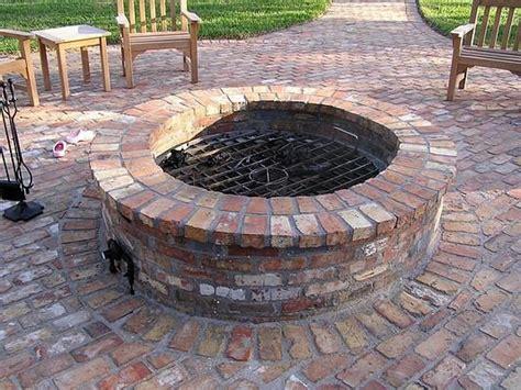 Curved Bricks For Fire Pit Regarding Remodel 10