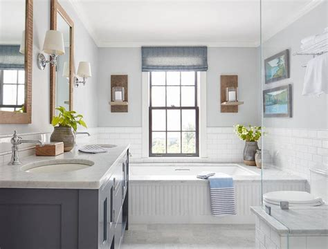 Gray Dual Vanity With Honed Olympian White Danby Marble