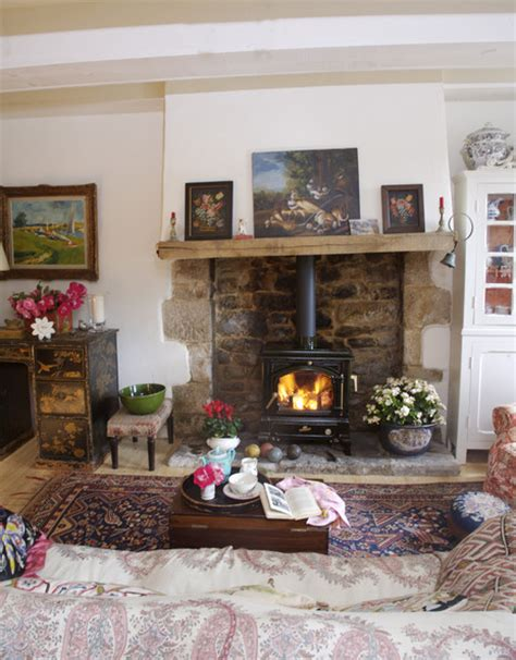 country living room ideas with fireplace mantelpiece decoration photos design ideas remodel and