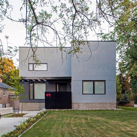 A Minimalist House Replaces A Bungalow  Design Milk
