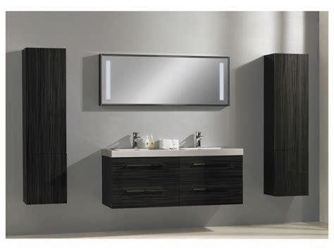 ensemble de salle de bain dolcezza suspendu en mdf avec vasque int 233 gr 233 e miroir et