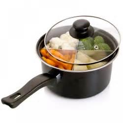 4 way 6 quot saucepan sauce pan cooking pot with four way dividers