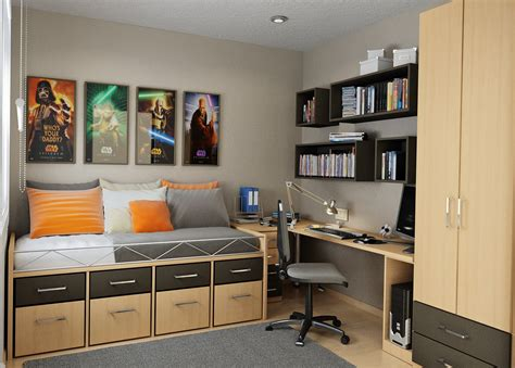 Small Bedroom Storage Solutions Designed To Saveup Space