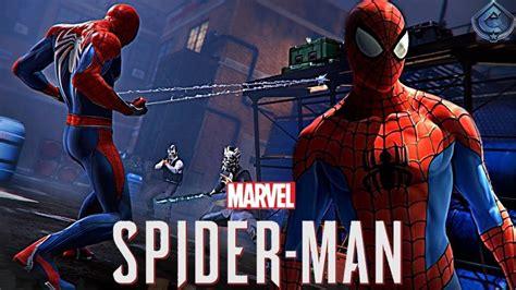 Classic Spider-man Suit Closer Look