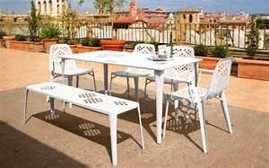 Gartenmöbel Aus Italien : wei e garten sitzgarnitur von emu lifestyle und design ~ Markanthonyermac.com Haus und Dekorationen