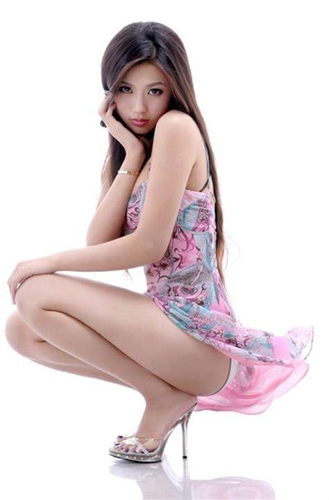 Asian Top Model Wang Qiu Jun  Beautiful Chinese Model