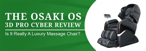 the osaki os 3d pro cyber chair review is this a luxury model
