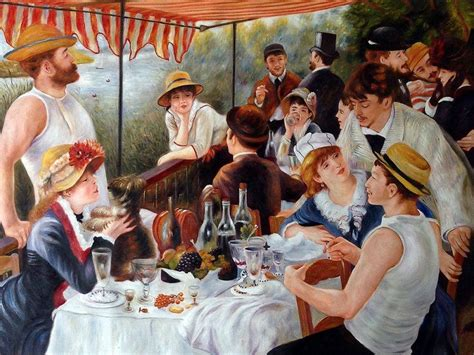 Luncheon Of The Boating Party Npr by Renoir Luncheon Of The Boating Party 40x30 Reproduction
