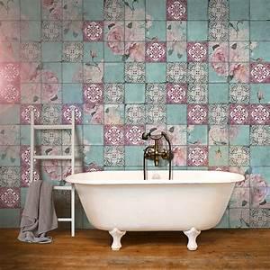 Vintage Fliesen Bad : die besten 17 ideen zu rosa fliesen auf pinterest badezimmer einrichtung beton badezimmer und ~ Markanthonyermac.com Haus und Dekorationen