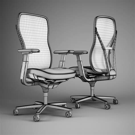 Ox Chair 3d Model by Office Chair 51 3d Model Max Obj Fbx C4d Cgtrader