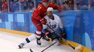 U.S. Men's Hockey Team Thoroughly Dominated By Russia, 4-0