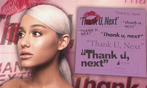 Ariana Grande Scores First No. 1 Hit With 'thank U, Next'