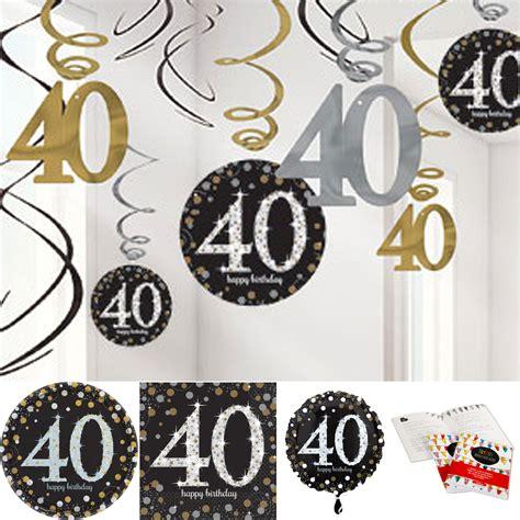 d 233 coration pour un anniversaire de 40 ans