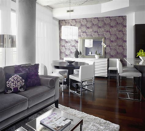 grey and purple living room designs 7 space saving tips for a small condo