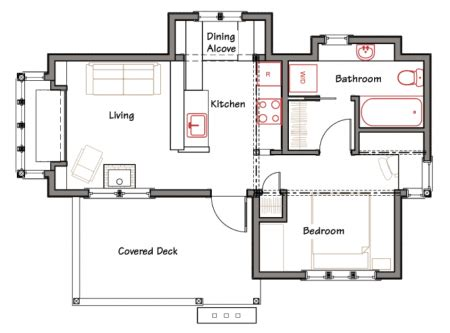 tiny house floor plans small residential unit 3d floor kudals home design plans design and decoration