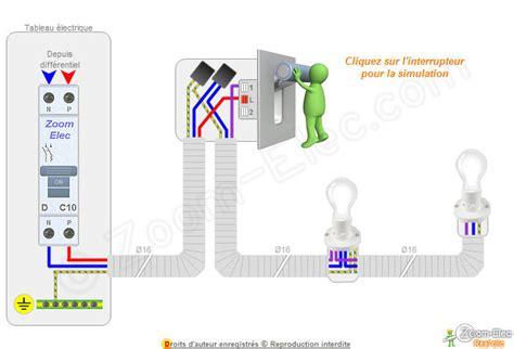 montage cblage branchement dun interrupteur simple allumage comment brancher un interrupteur