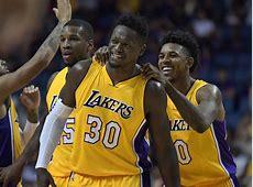 Los Angeles Lakers 201617 Regular Season Team Awards