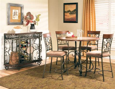 Wrought Iron Bathroom Vanities by Buy Thompson Round Counter Height Dining Table By Steve