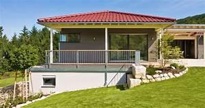 Fertighaus Bungalow Holz : klassischer bungalow von baufritz architektenhaus in holzbauweise design bungalow ~ Markanthonyermac.com Haus und Dekorationen