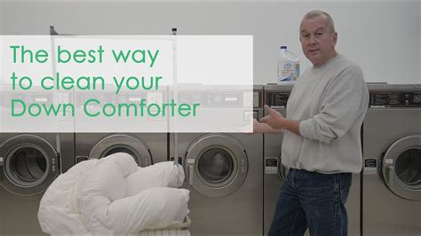 The Best Way Clean Your Down Comforter-youtube