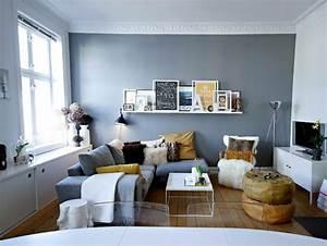 Kleines Wohnzimmer Gestalten : 150 bilder kleines wohnzimmer einrichten ~ Markanthonyermac.com Haus und Dekorationen