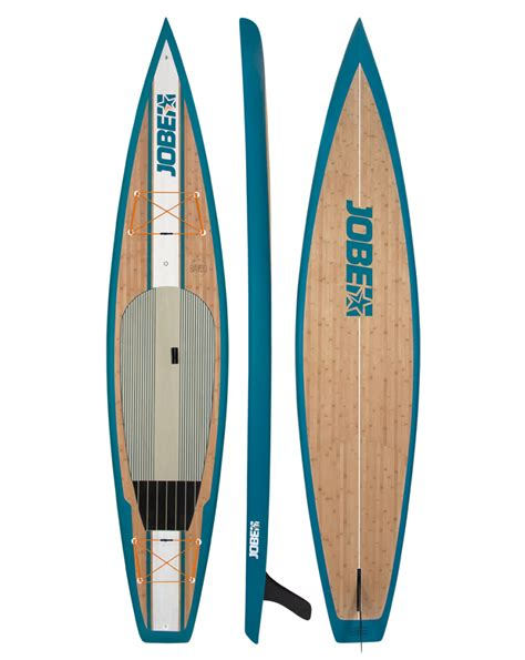 planche stand up paddle rigide jobe bamboo 12 6 quot