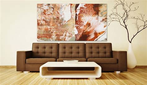 Modern Living Room Paintings : Modern Art Collector's Living Room