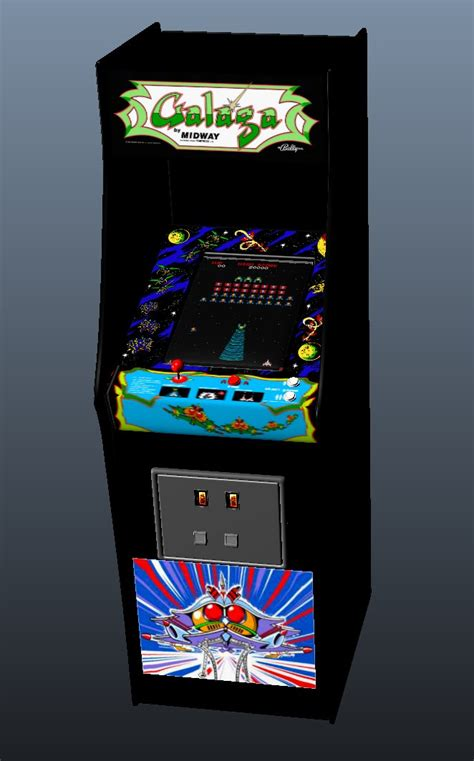 galaga arcade machine by greenmachine987 on deviantart