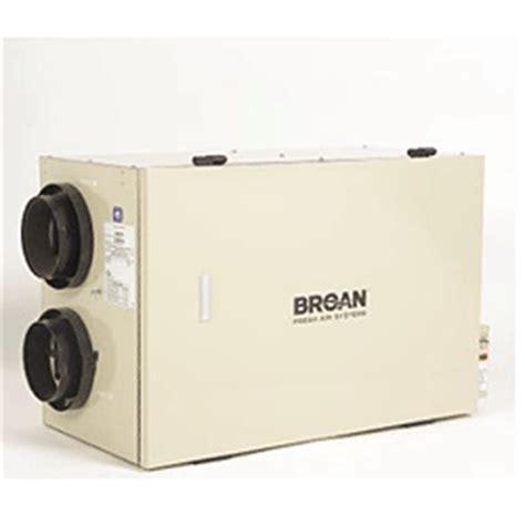 broan hrv100h heat recovery ventilator parts