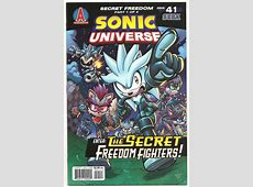 Sonic Universe #41 Unsung Heroes Part 1 Issue