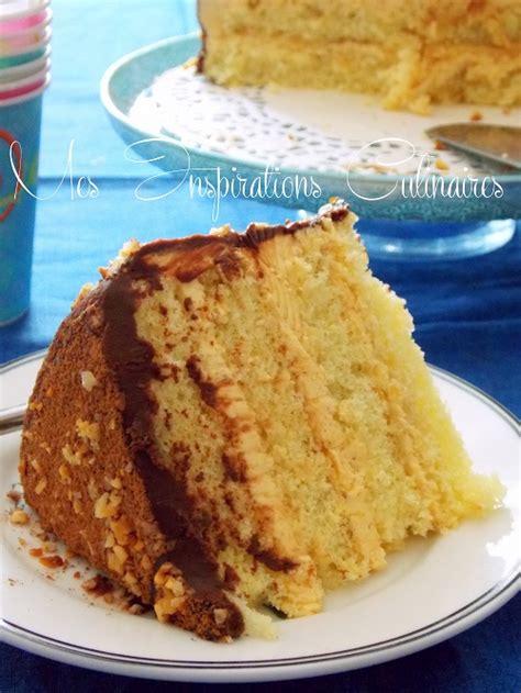 g 226 teau d anniversaire cr 232 me au beurre praline gla 231 age chocolat le cuisine de samar