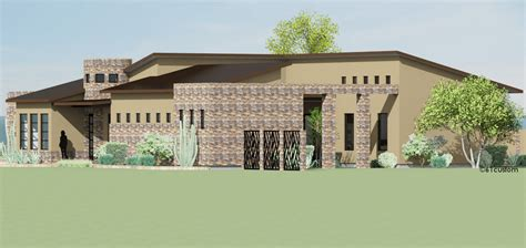 contemporary side courtyard house plan 61custom contemporary side courtyard house plan 61custom