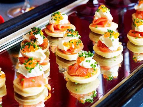 25 best ideas about smoked salmon blinis on salmon blinis blinis toppings and canapes