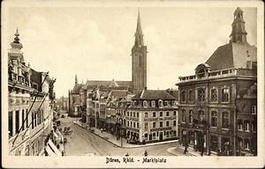 Jobs In Düren : ansichtskarte postkarte d ren im rheinland blick auf ~ Markanthonyermac.com Haus und Dekorationen