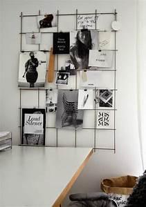 Ideen Für Pinnwand : die besten 25 gitter pinnwand ideen auf pinterest coole bulletin pinnw nde flamingo ~ Markanthonyermac.com Haus und Dekorationen