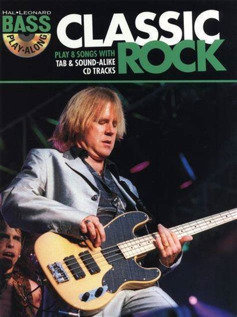 hal leonard bass guitar play along vol 6 classic rock mcquade musical instruments