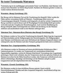 Matratzen Für Bauchschläfer Test : matratzen test januar 2017 testsieger im vergleich ansehen ~ Markanthonyermac.com Haus und Dekorationen