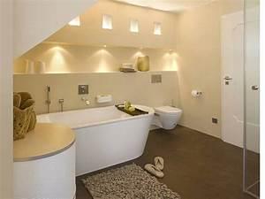 Spots Für Badezimmer : in decke und wandnische eingebaute spots sorgen f r eine warme indirekte beleuchtung das zw lf ~ Markanthonyermac.com Haus und Dekorationen