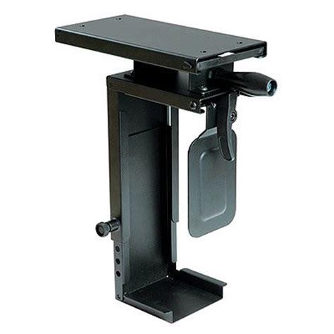 save 16 02 mini cpu holder desk mount slide