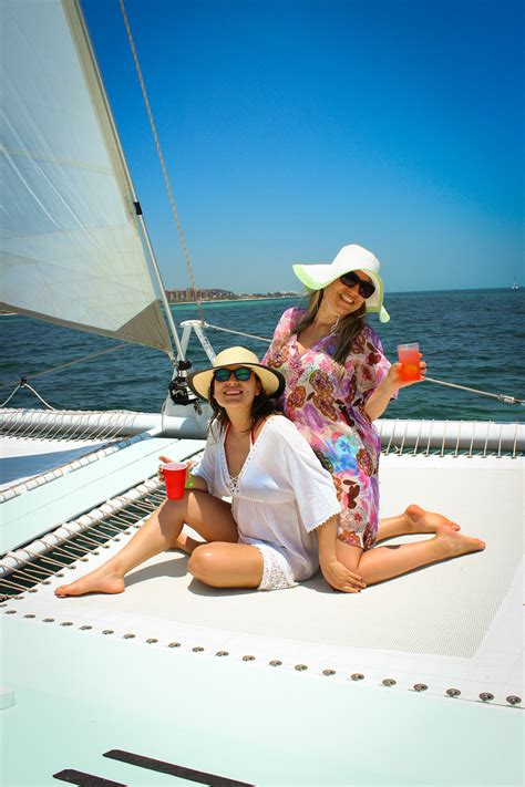 Isla Mujeres Catamaran Sailing Tour by Catmania Best Sailing Company In Playa Mujeres Cancun