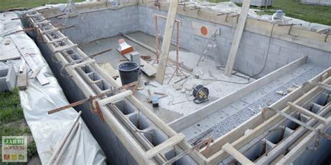 le coffrage d une piscine creus 233 e comment faire jardipartage