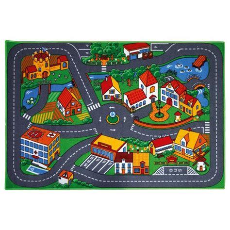 tapis de jeu pour petites voitures motor co king jouet garages et circuits motor co